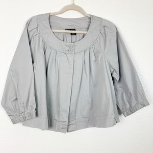 A.n.a. Maternity Cropped Button Stretchy Jacket